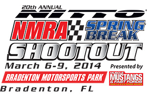 NMRA Spring Break Shootout Logo