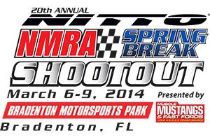NMRA Spring Break Shootout Logo