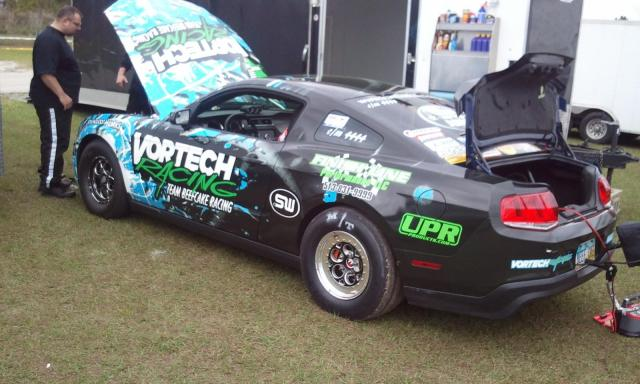 Beefcake from Bradenton with New Vortech Racing livery
