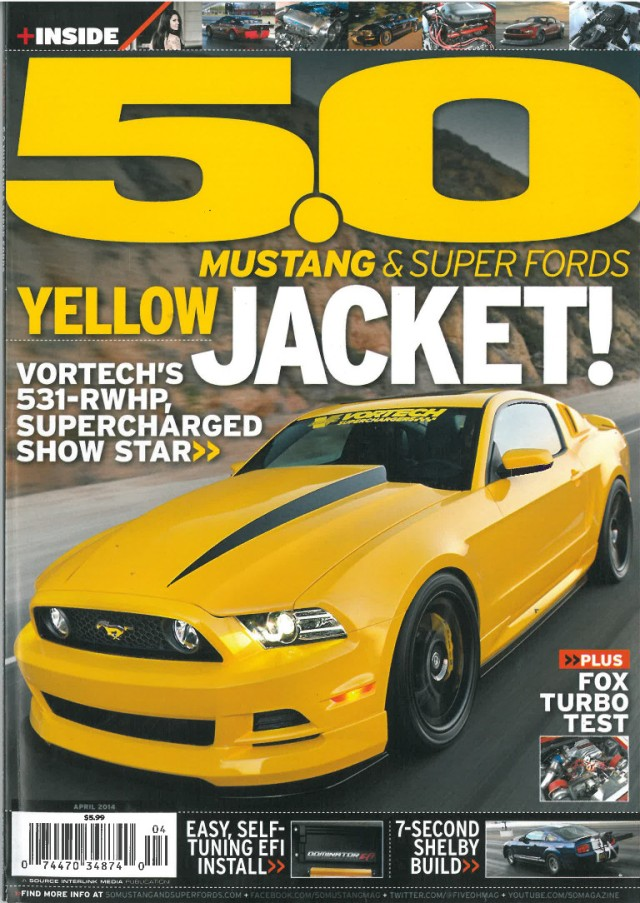 Vortech 5.0M April 14 cover