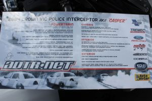 "ADTR's Vortech V-3 Supercharged ""Casper"" Crown Victoria"