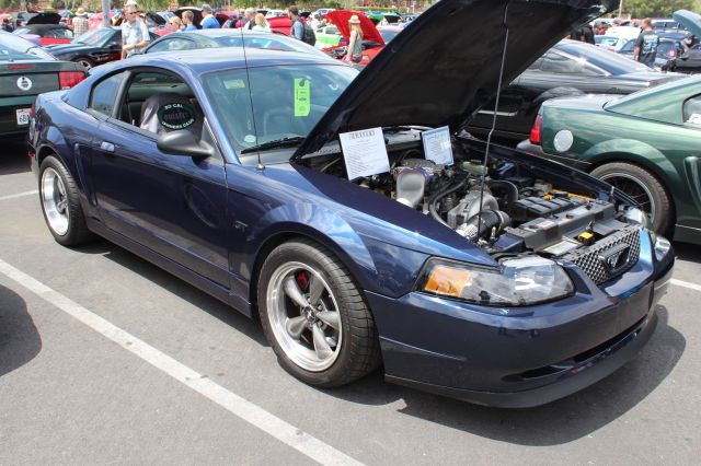 True Blue Vortech V-3 Supercharged 01 Bullitt Mustang