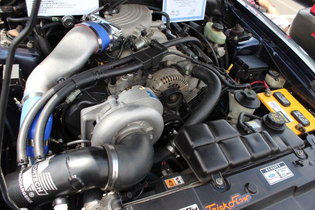 True Blue Vortech V-3 Supercharged 01 Bullitt Mustang