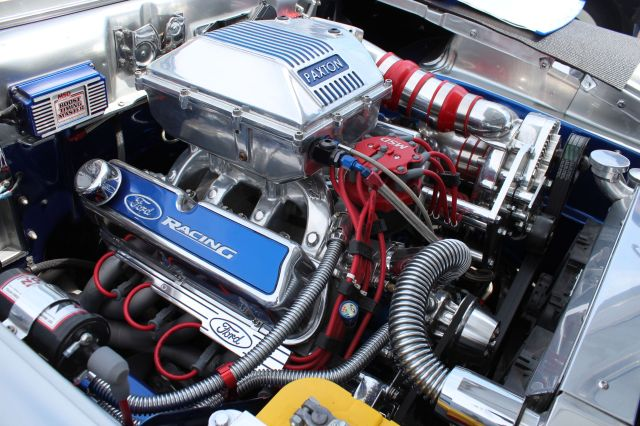"""Bob Lee's """"57 Again"""" Paxton Supercharged 57 Ford"""
