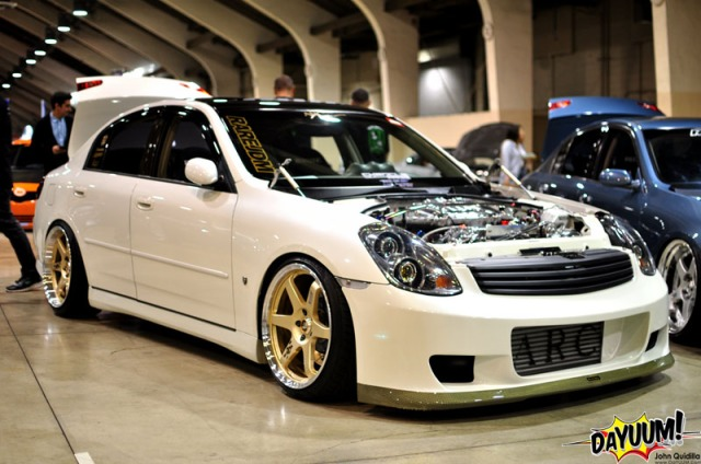 Chris Ortez's Vortech V-3 Supercharged G35 Sedan