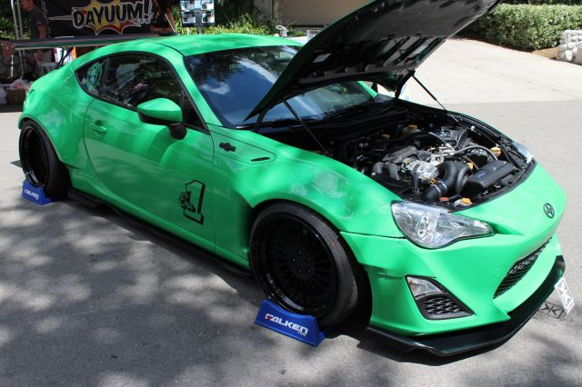 Christian Coujin's Vortech V-3 H67B Supercharged Scion FR-S
