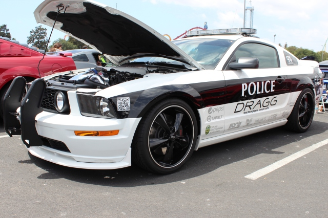 Oxnard PD DRAGG Program Vortech Supercharged Mustang