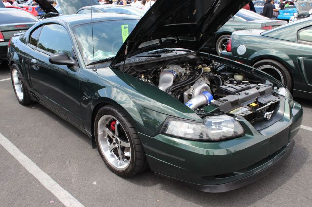 Dark Highland Green Vortech V-2 Supercharged 01 Bullitt Mustang