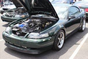Dark Highland Green Vortech V-2 Supercharged 01 Bullitt Mustang