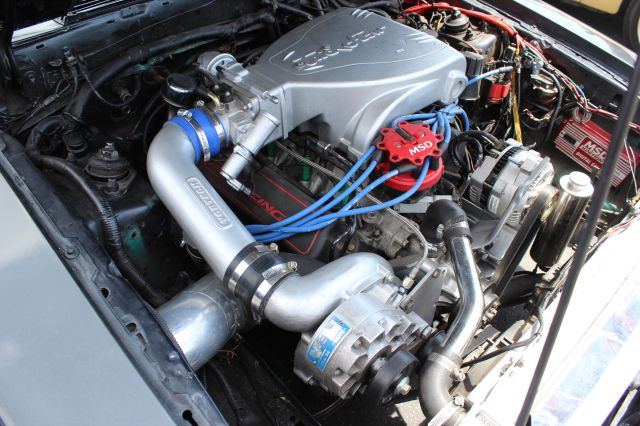 Vortech Supercharged Fox Body Mustang