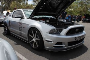 Gus Figueroa's V-3 Si Supercharged 5.0L Mustang GT