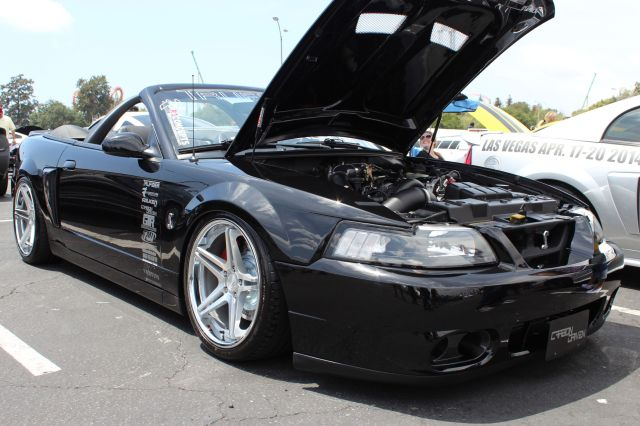 Junior Garcia's Paxton NOVI 1200SL Supercharged Mustang Convertible