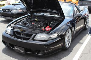 Junior Garcia's Paxton NOVI 1200SL Supercharged Mustang Convertible