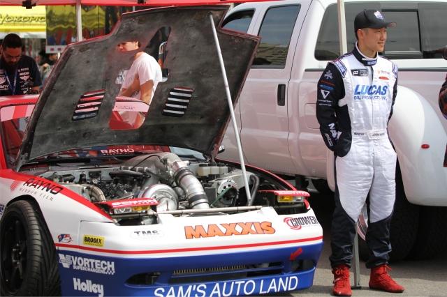 Team Lucas Oil Driver Joon Maeng