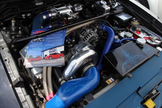 Mike Hill from JBA Speed Shop's Vortech V-2 Supercharged Mustang GT