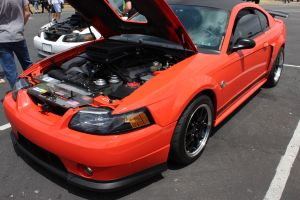 Competition Orange Vortech V-3 Supercharged Mach 1