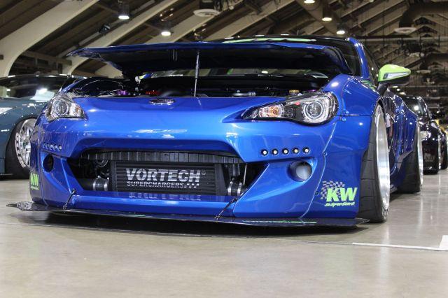 Phuong's Vortech V-3 H67B Supercharged LTMW Rocket Bunny 2 Subaru BRZ