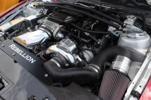 """Mustang Depot's Paxton NOVI Supercharged & Vortech Charge Cooled """"Rebellion"""" Mustang"""