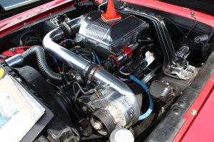 Paxton NOVI 1200 Supercharged Carbureted Classic Mustang
