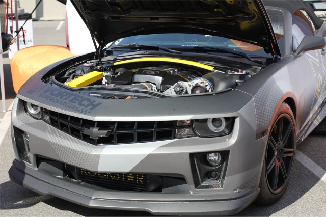 The Rockstar Performance Garage Camaro SS
