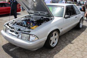 Silver Paxton NOVI 2000 Supecharged Fox Body LX