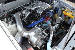 Silver Paxton NOVI 2000 Supecharged Fox Body LX