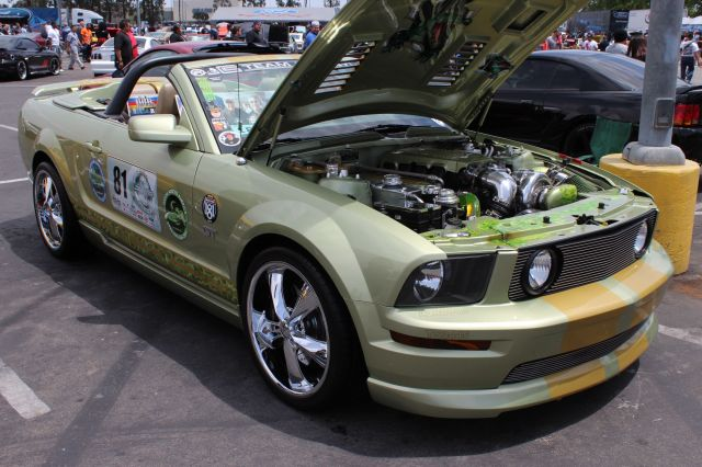 Thomas Raber's Paxton NOVI 2200 Supercharged S197 Mustang GT Convertible