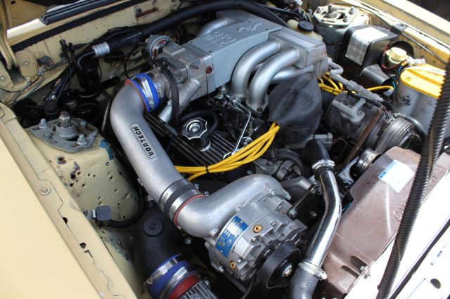 Vortech V-3 Si Supercharged Fox Body Convertible