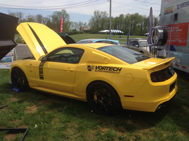 The One & Only Yellow Jacket Mustang GT - Vortech V-3 Si Supercharged and Blazing Hot!