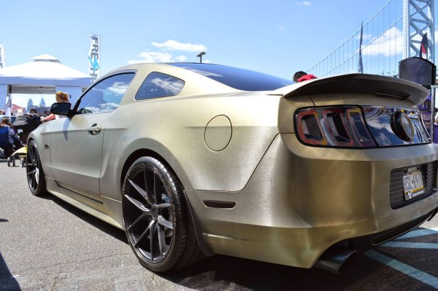 Keith's Brushed Army Green Vortech V-3 Si Supercharged 2013 Mustang GT