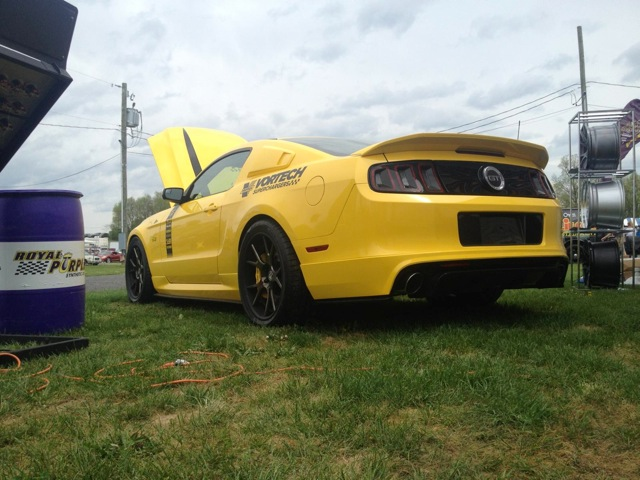 The One & Only Yellow Jacket Mustang GT - Vortech V-3 Si Supercharged and Blazing Hot