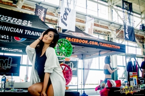 Tjin Edition x DaYUUM Booth representing Vortech Superchargers at the Nurotag SF Event