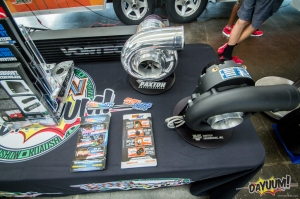 Vortech Display Blowers and Literature for the enthusiasts in attendance