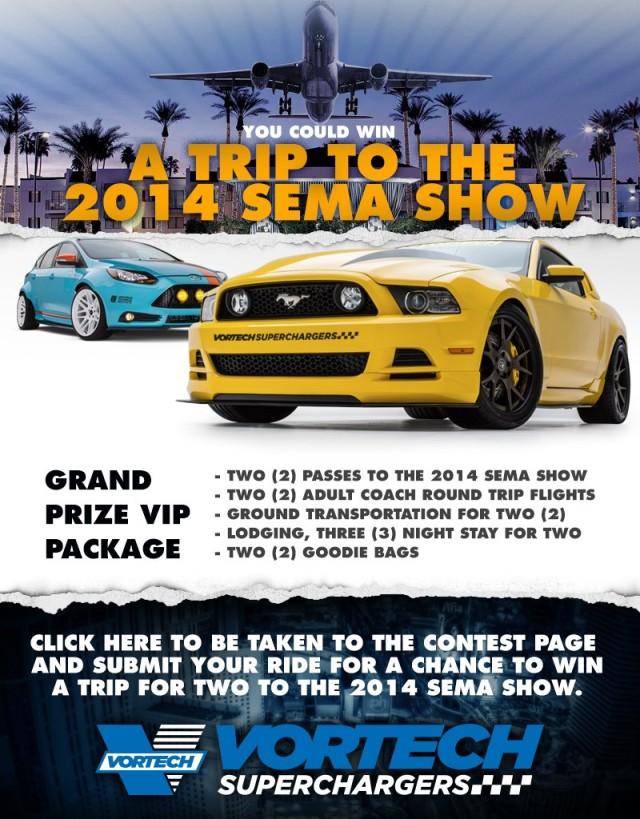 Vortech SEMA VIP Contest