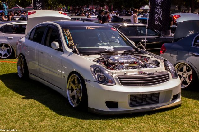 "Chris Ortez' ""Hottest Supercharged Setup"" Award Winning G35 Sedan"