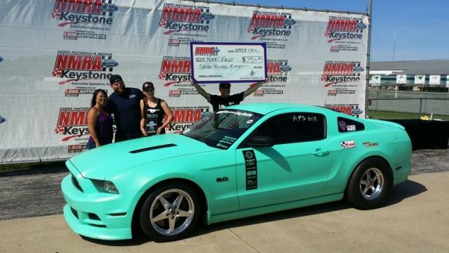 Runner Up Nikki Frost & Team