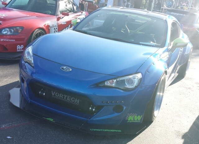 Phuong from LTMW's Vortech V-3 Supercharged Subaru BRZ