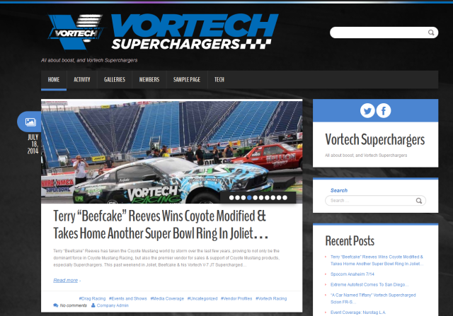 The All New Vortech Superchargers Blog